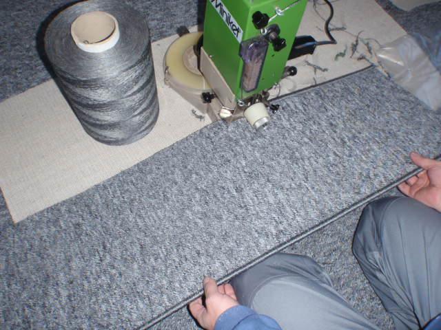 Układanie wykładzin dywanowych