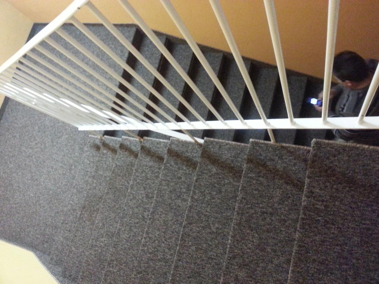 Wykładzina dywanowa na schody